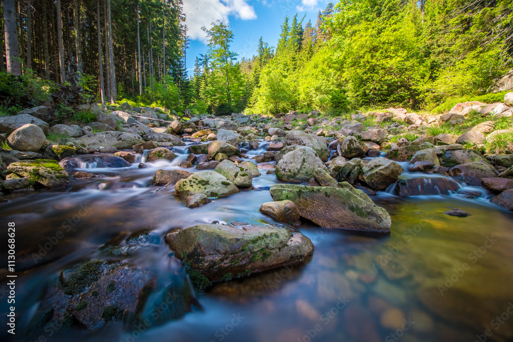 Obraz Relax krajobraz górski fototapeta, plakat