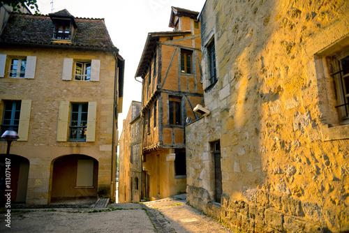 Beautiful streets in Bergerac, France Wallpaper Mural