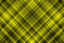 Illustration With Yellow And Black Checkered Diagonal Lines