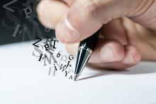Mano, Scrivere, Firmare, Penna...
