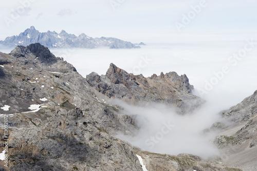Picos de Europa National Park, shared by the provinces of Asturias, Cantabria and Leon, Spain, Europe