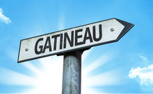 Gatineau Direction Sign In A C...
