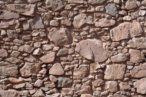 plakat Natural stone wall