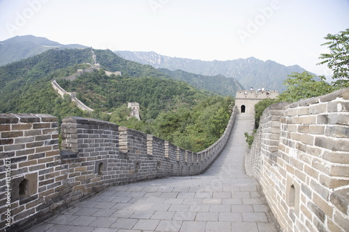 Photo sur Toile Muraille de Chine The Great Wall at Mutyanyu, UNESCO World Heritage Site, Beijing, China, Asia