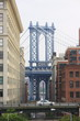 Manhattan Bridge, DUMBO, Brooklyn, New York City, New York, United States of America, North America
