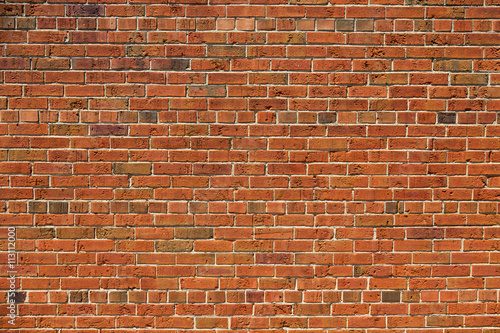 Brick wall, ideal for backgrounds and textures.