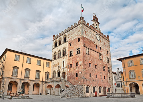 Fotografie, Obraz  Prato, Tuscany, Italy - Historic palace Palazzo Pretorio