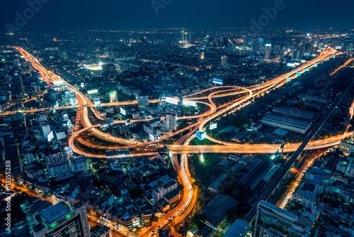 Fotografía  Bangkok bei Nacht