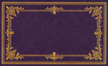 Violet Leather Cover