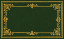 Dark Green Leather Cover