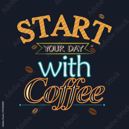 vintage-plakat-z-cytatem-inspiracji-kawy