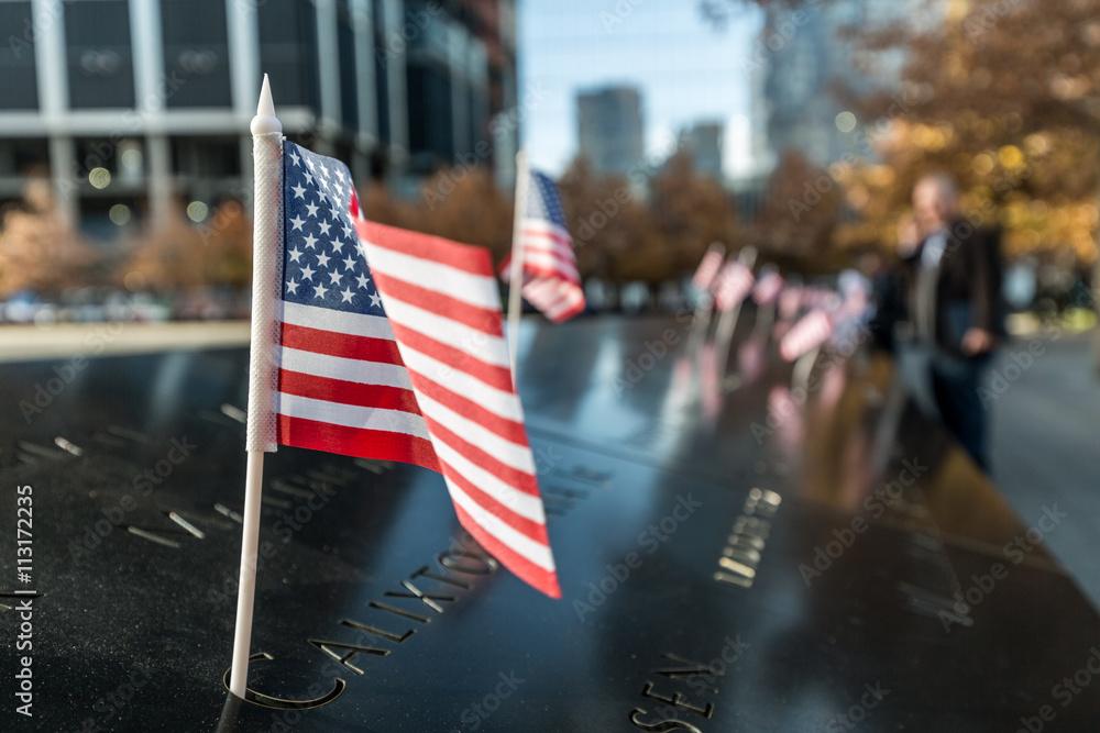 Fototapeta Memorial del 11S