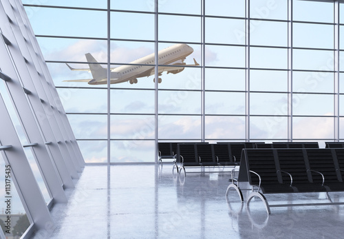 Poster Aeroport Airport interior