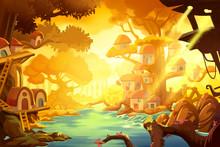 Watercolor Style Video Game Di...