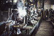 Steaming industrial equipment