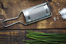 Small Grater And Chive