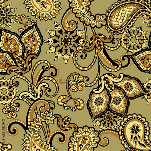 the-pattern-of-mandalas-and-paisley-pattern-in-indian-style