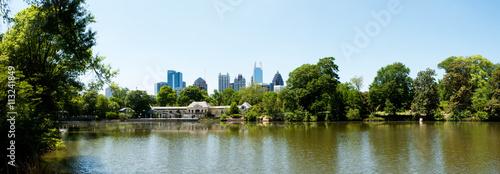 Plakat Lake Clara Meer w Piedmont Park Atlanta