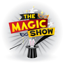 The Magic Show. Vector Illustration