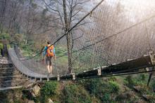 Crossing Footbridge