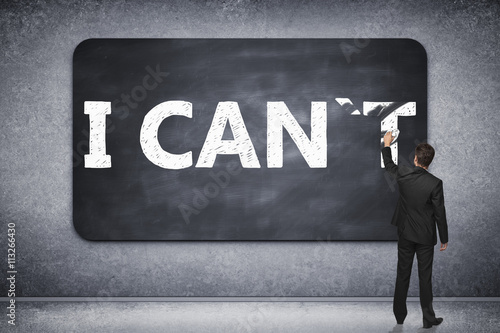I can on blackboard Poster