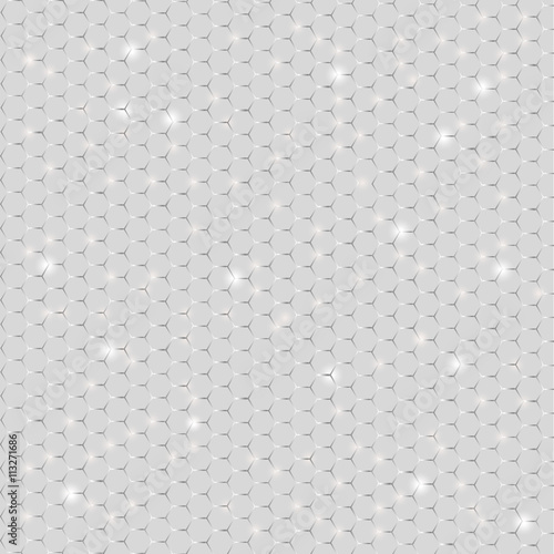 shiny metal mesh for design