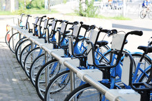 Public Bikes For A Ride Around The City