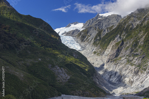 Foto op Aluminium Oceanië Gletscher Franz Josef Neuseeland - Glacier New Zealand Franz-Josef