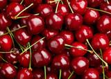 Cherry Background.  Sweet organic cherries