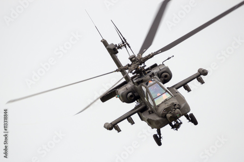 Poster Helicopter Attack helicopter