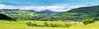 Die Rhön in Thüringen (Blick auf Diedorf & Zella)