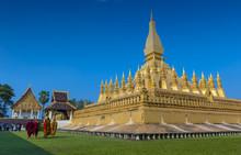Group Of Buddhist Monks Walkin...