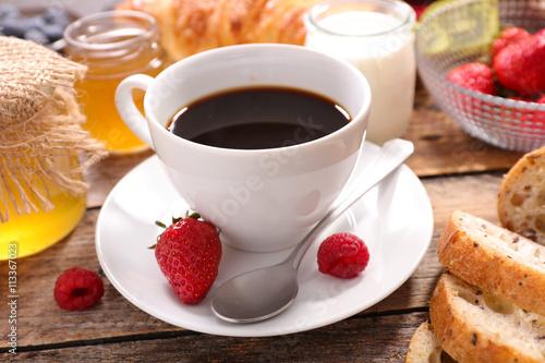fototapeta na lodówkę coffee cup