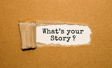 The Text What's Your Story? Ap...