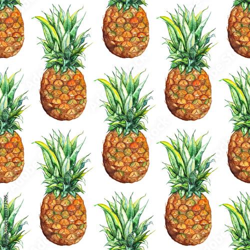 akwarela-ananas-egzotycznych-owocow-tropikalnych-wzor-tekstury-tlo
