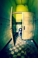 Dirty Toilet