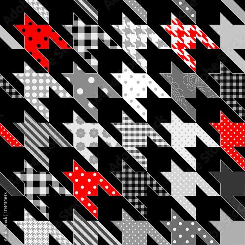 Photo  Geometric abstract pattern.