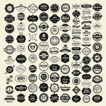 100 Labels And Logotypes Desig...
