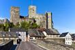 Runkel, Dorf und Festung an der Lahn
