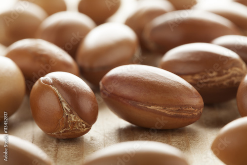 Photo Traditional Moroccan argan nuts