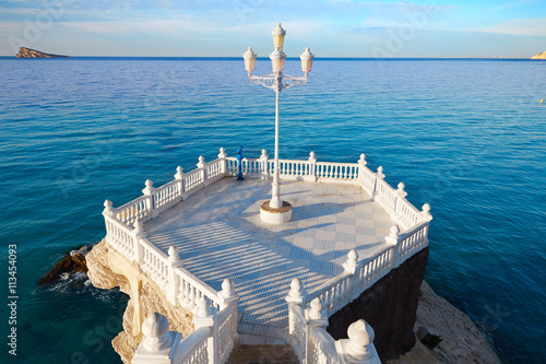 Benidorm Mirador del Castillo lookout Alicante