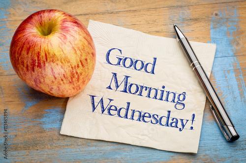 Carta da parati Good Morning Wednesday