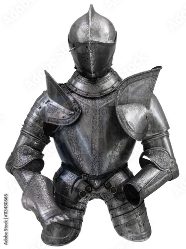 Photo  Medieval Suit Of Armour