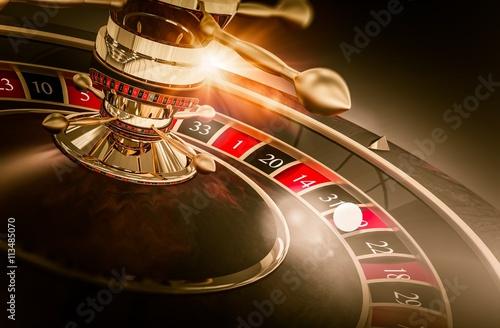 Casino Roulette Games плакат