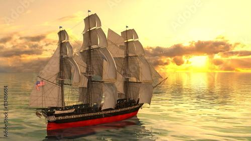In de dag Schip 帆船