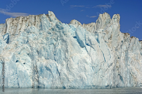 Valokuva  Ice Face of a Tidewater Glacier