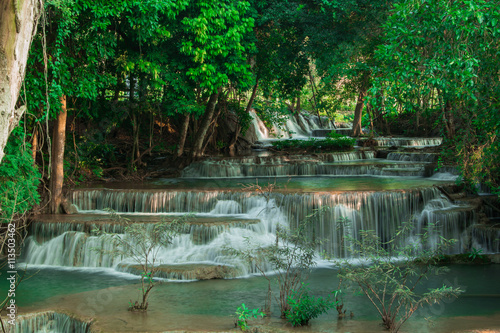 Fototapety, obrazy: waterfall in Kanchanaburi