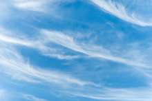 Cirrus Clouds In The Blue Sky ...