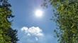 Słońce i niebo