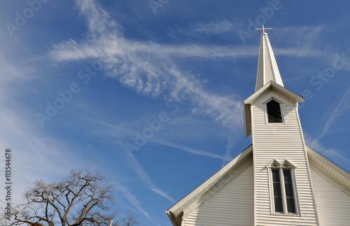 Edifice religieux Rural Church, Midwest, Ohio, near Akron, USA